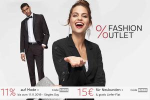 Bild von Fashion Outlet Sale für Sie und Ihn -70% + EXTRA Rabatt!
