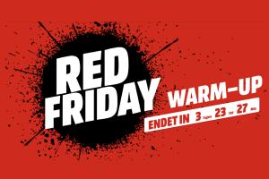 Produktbild von RedFriday WarmUp! Bis zu 71% Rabatt u.a. iRobot, SanDisk, Olympus, Huawei