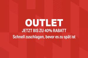 Bild von Mega Outlet Sale! 40% Rabatt warten auf Dich!