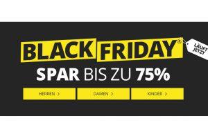 Bild von Großer Black Friday Fashion Sale bis zu 75% Rabatt u.a. Adidas, Asics, Bench, Geox, Nike, Jack&Jones, Hummel uvm.