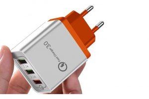 Bild von USB-Ladegerät Quick Charge für bis zu 3 Geräte