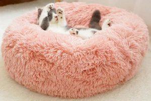 Bild von 40 cm/50 cm/60 cm oder 70 cm Haustierbett in der Farbe nach Wahl