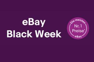 Produktbild von eBay Black Week! Die meisten BestPreise im Netz sind hier zu finden!