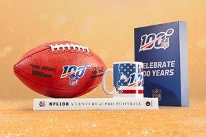 Bild von Der offizielle NFL Online Shop mit Angeboten zum Jubiläum! Feiere 100 Jahre NFL & sichere Dir bis zu -50%!