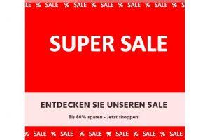 Bild von SUPERSALE – Bis zu 80% Rabatt auf Top Marken wie Wrangler, Mustang, Levi's, Lee, G-Star, Vera Moda uvm.!!