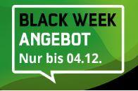 Produktbild von Black Week SONDERAKTION für 19,99€ mtl.: green LTE 8 + 10 GB on Top! Insgesamt 18 GB pro Monat im besten Telekom-Netz!