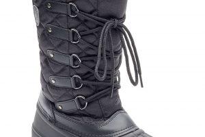Bild von Kimberfeel Snow-Boots Elisa, Leder, gefüttert, schwarz