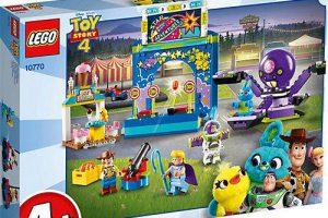 Bild von LEGO® 10770 Juniors Toy Story 4:  Buzz & Woodys Jahrmarktspaß