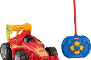 Bild von Mattel Fisher-Price Fernlenkflitzer, ferngesteuertes Auto Kinder, Spielzeug-Auto
