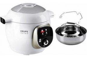Bild von Krups Multikocher CZ7101 Cook4Me +, 1600 W, 6 l Schüssel, 150 vorinstallierte digitale Rezepte