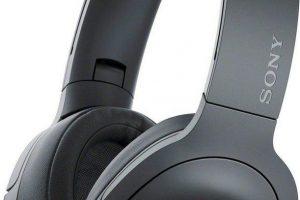 Bild von Sony »WH-H900N« On-Ear-Kopfhörer (Bluetooth, NFC), schwarz