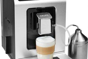 Bild von Krups Kaffeevollautomat EA891D Evidence Metal Espresso-Vollautomat, mit 15 Voreinstellungen