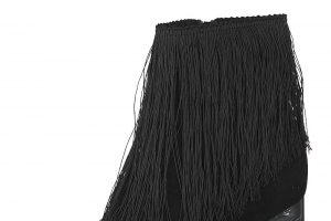 Bild von Tamaris Stiefeletten, Leder, Absatz 7 cm, schwarz