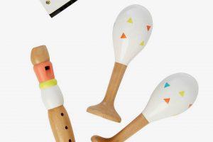 Bild von Vertbaudet 3 Holz Musikinstrumente für Kinder von vertbaudet