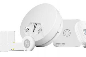 Bild von Medion® Smart Home Starter Set für Einsteiger »P85754 (MD 90754)«, weiß