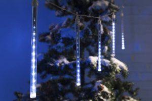 Bild von Wetekom 60 LED Lichterkette mit Schneefalleffekt
