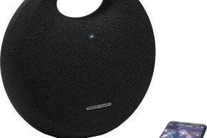 Bild von Harman/Kardon Onyx Studio 5 Portable-Lautsprecher (Bluetooth, 50 W), schwarz