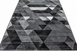 Bild von Ayyildiz Teppich »Lima 1920«, 200×290 cm, 13 mm Gesamthöhe, schwarz