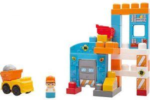 Bild von Mattel Mega Bloks Baustein-Spielzeug Baustelle