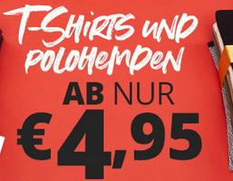 Bild von T-Shirts und Polohemden ab 4,95€