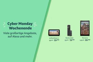 Produktbild von CyberMonday Rabatte: 50% auf Amazon Alexa Produkte!