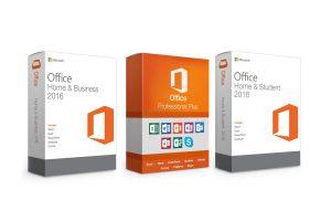 Bild von Microsoft Office 2016 Home & Student, Home & Business oder Professional für PC oder MAC als Download