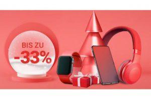 Bild von Christmas Sale – Spare bis zu 33% extra auf Technik!
