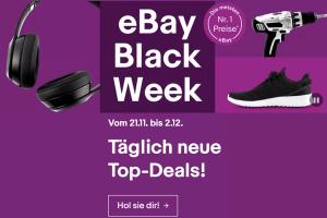 Produktbild von eBay Black Weekend Deals! Nur noch HEUTE bis zu 91% Rabatt!