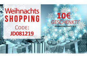 Bild von Weihnachtsshopping – 10€ geschenkt! Code: JD081219 | Top-Marken wie Mustang, Wrangler, LTB Levi's uvm.!