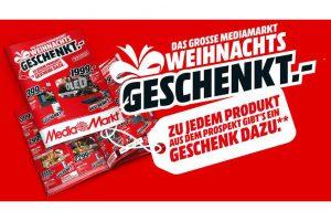 """Bild von """"Das große MediaMarkt Weihnachtsgeschenkt,-"""" Zu jedem Produkt aus dem Prospekt gibt's ein Geschenk dazu!"""