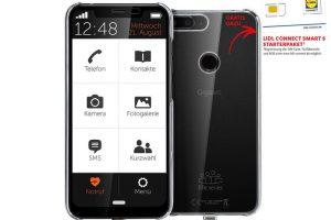 Bild von Gigaset Senioren Mobiltelefon Smartphone GS195LS Life Series inkl. Lidl Connect Smart S